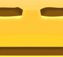 Expressionless Face Apple / WhatsApp Emoji Sticker