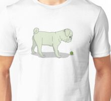 Light Pug and Ball Unisex T-Shirt