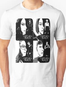 Orphan Black in Black and White T-Shirt