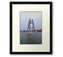 Molecule Man Framed Print