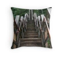 Stairs Throw Pillow