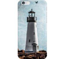 Walton Lighthouse Santa Cruz, California iPhone Case/Skin