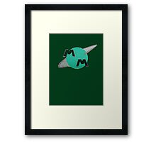 Meteor Man Framed Print