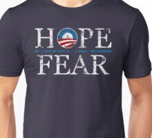 Barack Obama Hope over Fear t shirt Unisex T-Shirt