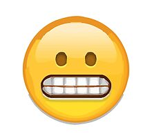 Grimacing Face Apple / WhatsApp Emoji by emoji