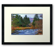 River Dochart View Framed Print