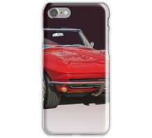1967 Chevrolet Corvette Convertible iPhone Case/Skin