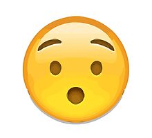 Hushed Face Apple / WhatsApp Emoji by emoji