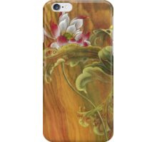 """""""Mother and Child"""" from the series """"In the Lotusland"""" iPhone Case/Skin"""