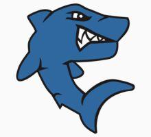 Comic shark Baby Tee