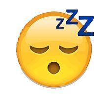 Sleeping Face Apple / WhatsApp Emoji by emoji