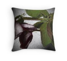 Wilted Roses Throw Pillow