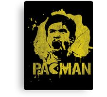 Manny Pacman Pacquiao Graffiti shirt and more Canvas Print