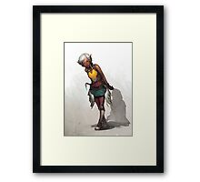 Doon Framed Print