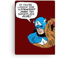 You tell 'em, Cap Canvas Print