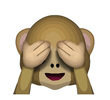 See-No-Evil Monkey Apple / WhatsApp Emoji by emoji