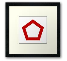 Indonesian Air Force - Roundel Framed Print