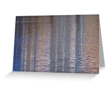 "Mother Nature's ""Water & Light"" Tapestry III Greeting Card"