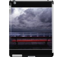 The Red Bench Poster iPad Case/Skin