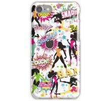 girl power sexy superhero comic women iPhone Case/Skin
