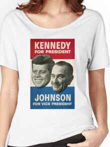Kennedy and Johnson Women's Relaxed Fit T-Shirt