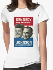 Kennedy and Johnson Womens Fitted T-Shirt