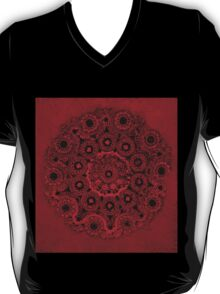 Doily Joy Mandala- Deep Roots T-Shirt