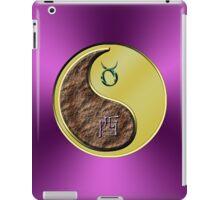 Taurus & Rooster Yin Metal iPad Case/Skin