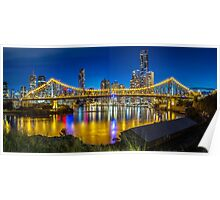 Story Bridge- Brisbane Queensland Poster