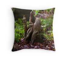 The Cypress King & Subjects Throw Pillow