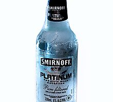 Product shot: Smirnoff Platinum by Vanessa Pike-Russell