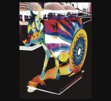 Wheeled Cow by Julio Herrera
