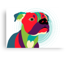 Bennie The Boxer Dog Canvas Print
