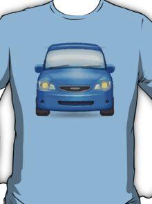 Oncoming Automobile Apple / WhatsApp Emoji T-Shirt