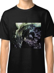 Ghostly wave abstract painting Classic T-Shirt