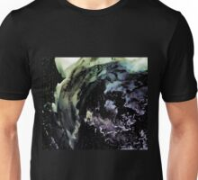 Ghostly wave abstract painting Unisex T-Shirt