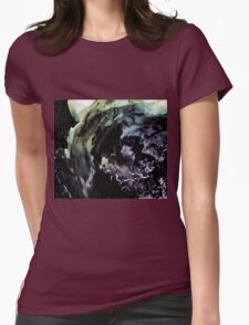 Ghostly wave abstract painting T-Shirt