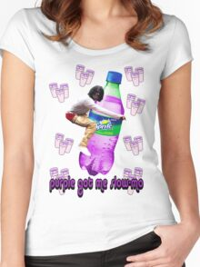 dirty sprite chief keef v2.0 Women's Fitted Scoop T-Shirt