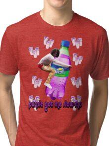 dirty sprite chief keef v2.0 Tri-blend T-Shirt