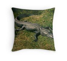 Gator Dreams Throw Pillow