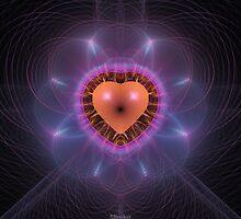 'Radiating Heart' by Scott Bricker