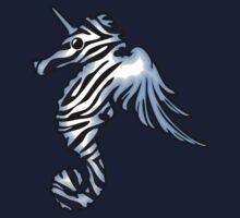 Pegasus Unicorn Zebra Seahorse by jezkemp