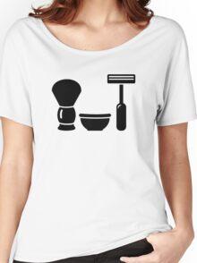 Barber shaving equipment Women's Relaxed Fit T-Shirt