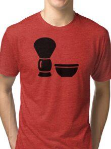 Shaving brush Tri-blend T-Shirt