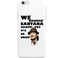 LONELY ISLAND - ON A BOAT - SANTANA CHAMP iPhone Case/Skin