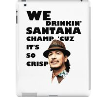LONELY ISLAND - ON A BOAT - SANTANA CHAMP iPad Case/Skin