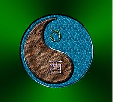 Taurus & Rooster Yin Water by astrodesigner75