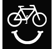 Bike Smile Photographic Print