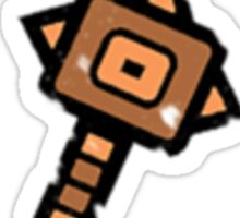 Hammer Time! Monster Hunter Weapon  Sticker