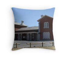 Echuca Railway Station Throw Pillow